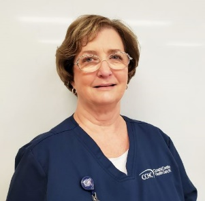 Jeri Whitford is a CCHC nurse who keeps track of Medicare fraud