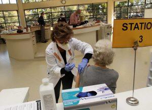 CCHC New Bern NC COVID vaccine clinic